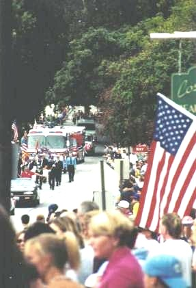 The Fall Festival Parade - Saturday, September 22, 2001