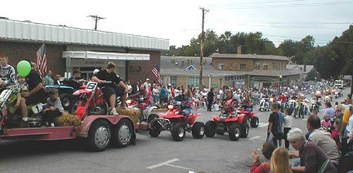 The Shriners were out in full force
