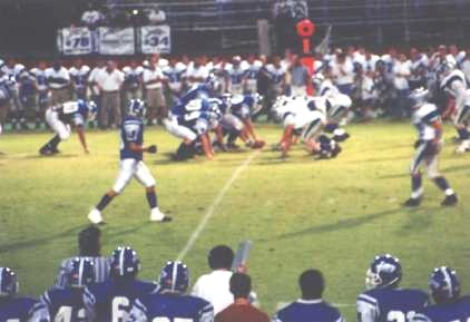 The Liberty High School Football Team in Action